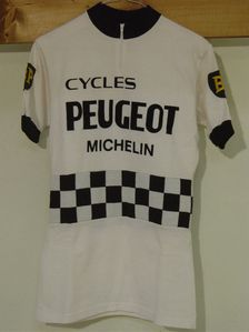 R maillot PEUGEOT BP 1975