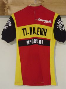 R maillot TI-RALEIGH 1979