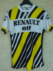 R maillot renault elf 85