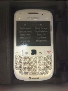 rogers white blackberry curve 8520