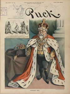 Edward VII (Puck magazine)