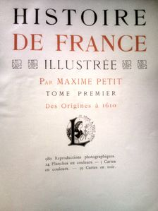 Histoire De France Illustree Des Origines A 1872 Larousse