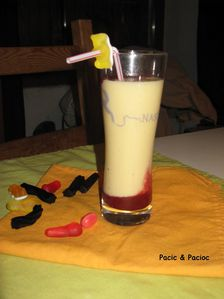 smoothie pomme abricot
