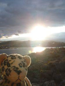 P9150502 - devant le coucher du soleil sur le lac Baïkal