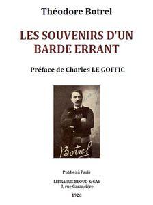 Botrel-mémoires-pagegarde