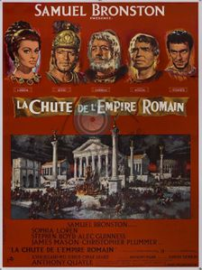 La chute de l'empire romain (1964)