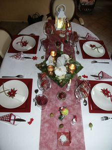 table fête
