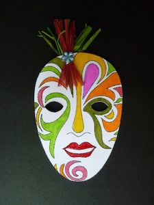 masque Carnaval Merlin 1