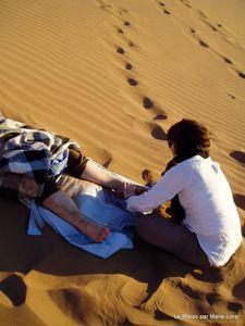 Sophie reflexologue du desert