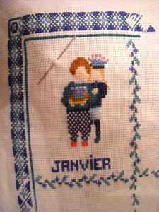 broderie 2010-01 Calendrier 2
