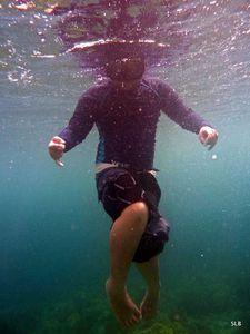 Rafael-11ans-clown-sous-l'eau