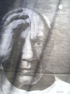 Apple, Think different, Pablo Picasso