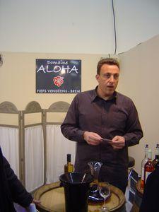 Aloha, Samuel Megnan, Salon des Vins de Loire 2010