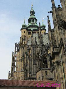 Prague : la cathédrale
