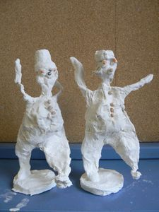 Figurines de clowns