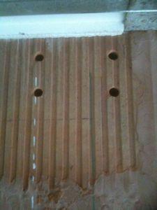Scellement chimique dans la brique autoconstruction de ma maison - Scellement chimique temps de sechage ...