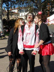 trio zombie