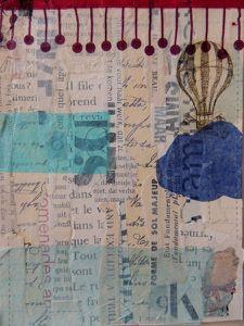 12 ajouter papier de soie ou bouts de serviette