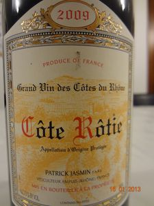cote rotie jasmin 2009