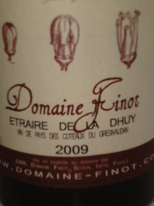 Dauphiné domaine Finot