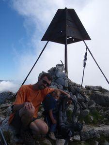 Mont Trélod (voie normale) en famille 12