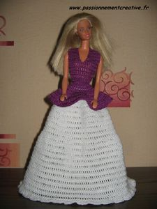 Barbie Princesse violette