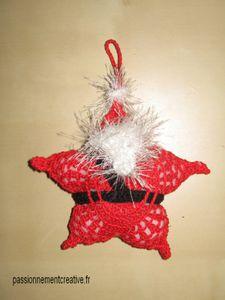Etoile Père Noël