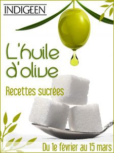 huile olive sucre