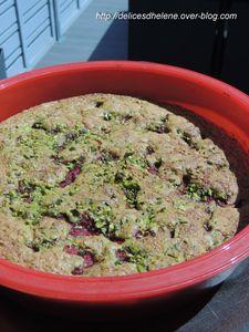 gâteau pistache-framboises (4)