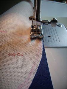Couture du skaï