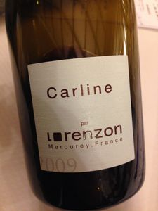 mercurey carline 2009 lorenzon