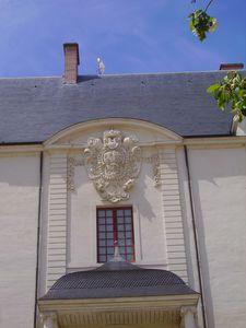 détail du château