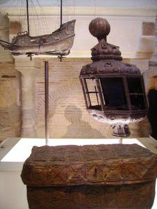 objets d'un bâteau ( château de Nantes)