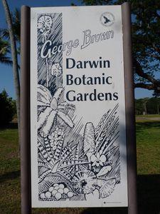 Australie-Darwin-20-24 septembre 2012-Darwin Botanic Garden