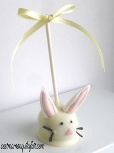 cake pop lapin de paque tout doux fluffy bunny cake pop (9)