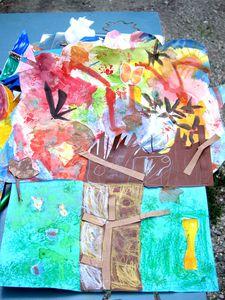 arbre d'automne catherine jantet atelier d'art klee martin