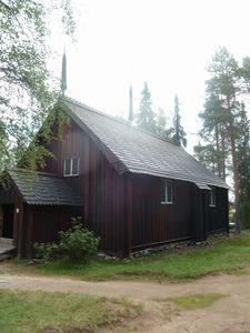 2013 07 11 b église Luthérienne sobre de Laponie finlanda
