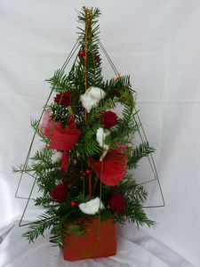 Decoration florale noel for Decoration florale noel