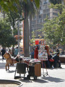 Santiago - Plaza de armas, Fotografos