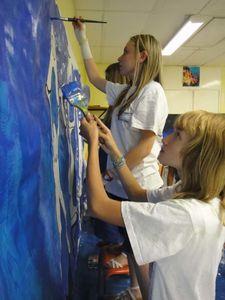 Artiste peintre Charleville Flo Atelier Graff Fresque 4