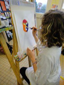 Atelier de Flo Ardennes Peinture Joconde 8