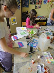 Atelier de Flo Ardennes Linogravure Encre 2