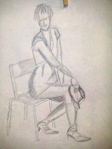 Cabaret feutre dessin croquis atelier de flo 7