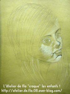 Croquis dessin visage enfant Atelier Artiste Ardennes Flo Megardon7