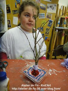 Atelier de Flo Knit'Art Sculpture Laine FloM9