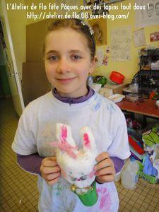 Atelier Lapins de pâques Enfants Artiste Peintre Flo Megardon15