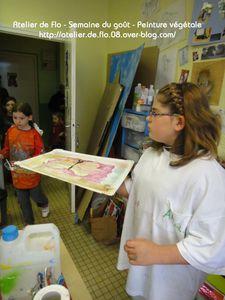 Atelier-Semaine du Goût-Peinture Végétale-FloM 39