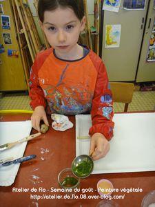 Atelier-Semaine du Goût-Peinture Végétale-FloM 9