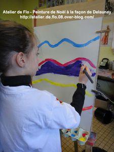 Peinture-Delaunay-Rond-Noël-Atelier de Flo11