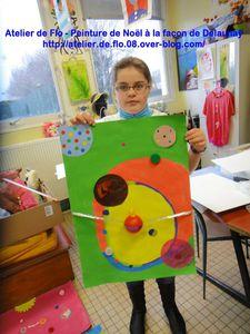 Peinture-Delaunay-Rond-Noël-Atelier de Flo16